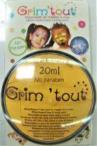 Galet de maquillage jaune soleil 20ml sans paraben