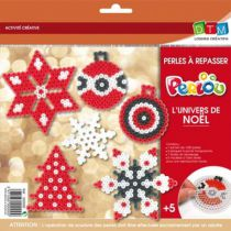 Kit 1000 perles à repasser l\'Univers de Noël avec 5 motifs