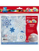 Kit 1000 perles à repasser l\'Univers Glacé de Noël avec 5 motifs