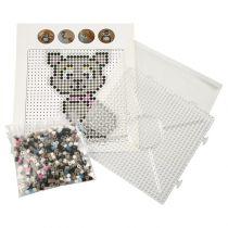Kit Perles à Repasser Chat