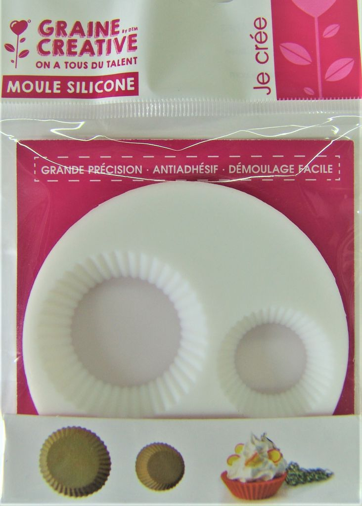 "Mini moule \""Cupcake\"" en silicone"