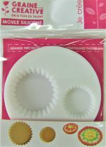 "Mini moule \""fonds de tarte\"" en silicone"