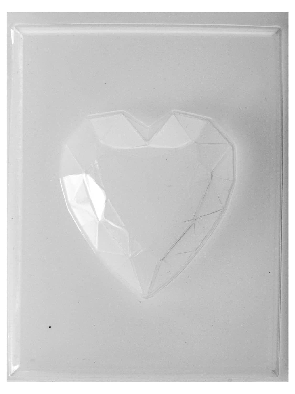 Moule savon fantaisie - Diamant cœur