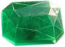 Moule savon fantaisie - Diamant rectangle