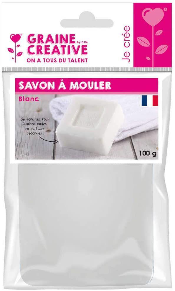 Pain de Savon à mouler Blanc DIY 100 gr