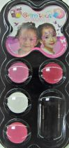 Palette de maquillage 4 couleurs Grim\'tout - papillon