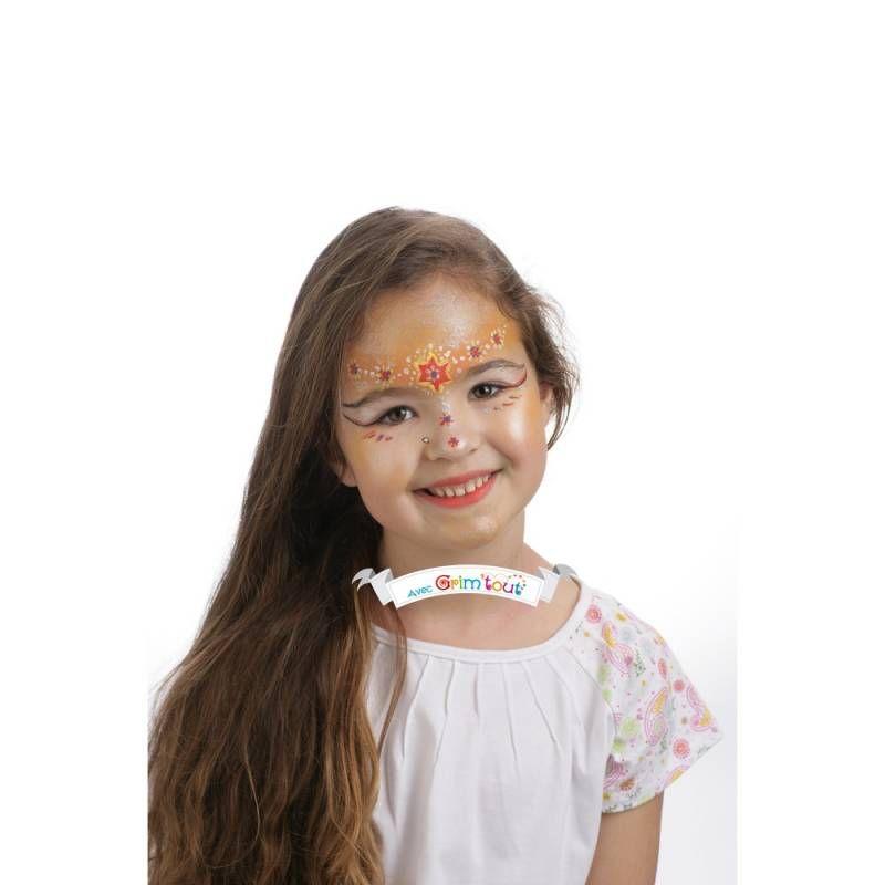 Palette de maquillage 4 couleurs Grim\'tout - reine des fées