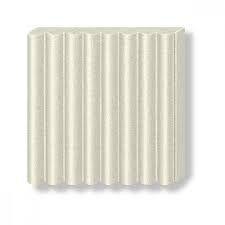 Pâte Fimo Effect 57g Blanc Métallic n°8