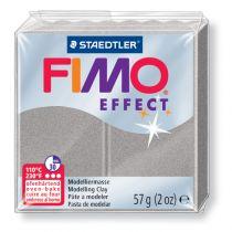 Pâte Fimo Effect 57g Gris Clair Pailleté n°817