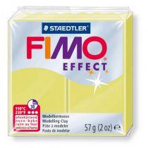 Pâte Fimo Effect 57g Jaune Citrine n°106