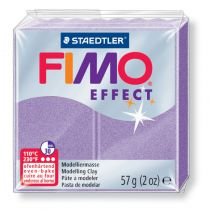 Pâte Fimo Effect 57g Lilas Perle n°607