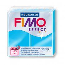 Pâte Fimo Effect 57g Néon Bleu n°301