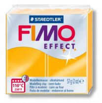 Pâte Fimo Effect 57g Néon Orange n°401