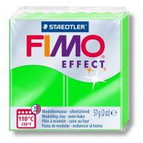Pâte Fimo Effect 57g Néon Verte n°501