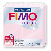 Pâte Fimo Effect 57g Rose Quartz n°206