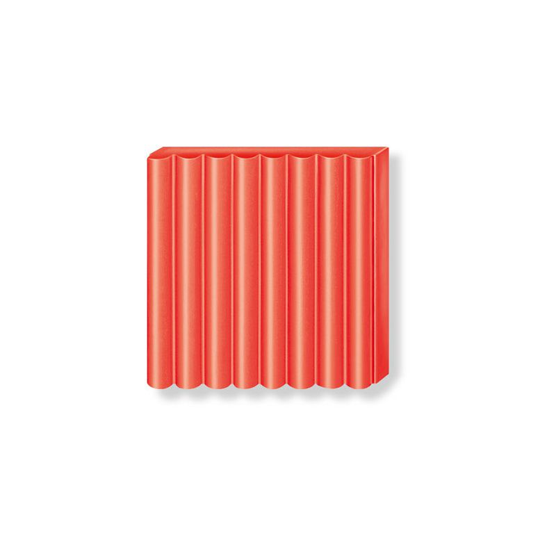 Pâte Fimo Effect 57g Rouge Transparent n°204