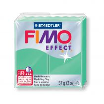Pâte Fimo Effect 57g Vert Jade n°506