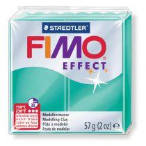 Pâte Fimo Effect 57g Vert Transparent n°504