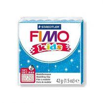 Pâte Fimo Kids 42g Bleu Pailleté n°312