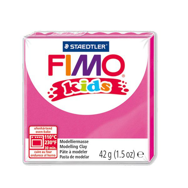 Pâte Fimo Kids 42g Fuchsia n°220