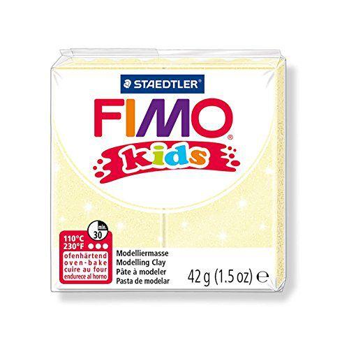 Pâte Fimo Kids 42g Jaune Perle n°106