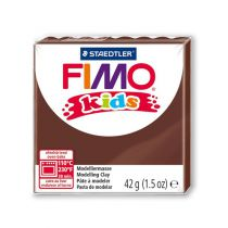 Pâte Fimo Kids 42g Marron n°7