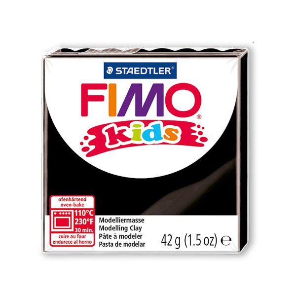 Pâte Fimo Kids 42g Noir n°9