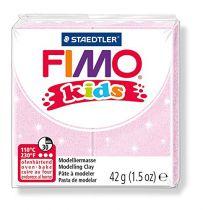 Pâte Fimo Kids 42g Rose Perle n°206
