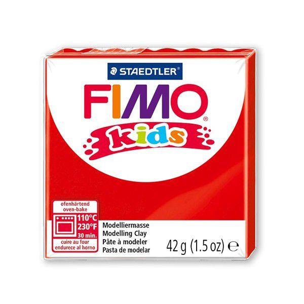 Pâte Fimo Kids 42g Rouge n°2