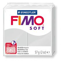 Pâte Fimo Soft 57g Gris Dauphin n°80