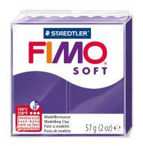 Pâte Fimo Soft 57g Prune n°63