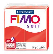 Pâte Fimo Soft 57g Rouge Indien n°24