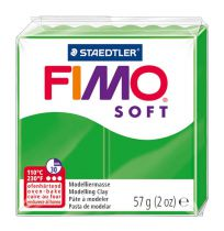 Pâte Fimo Soft 57g Vert Tropical n°53