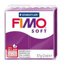 Pâte Fimo Soft 57g Violet Pourpre n°61