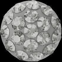 Pavé Cabochon 8mm Black Diamond Swarovski