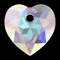 Pendentif Coeur Heart Cut Pendant 6432 Crystal AB 10,5mm x1 Swarovski