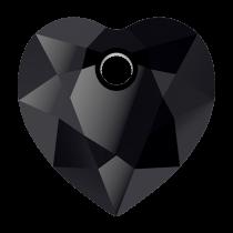 Pendentif Coeur Heart Cut Pendant 6432 Jet-Noir10,5mm x1 Swarovski