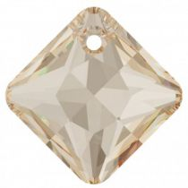 Pendentif Princess Cut Pendant 6431 Crystal Golden Shadow 11,5mm x1