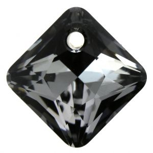 Pendentif Princess Cut Pendant 6431 Crystal Silver Night  11,5mm x1