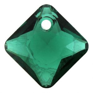Pendentif Princess Cut Pendant 6431 Emerald  11,5mm x1