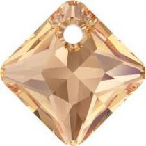 Pendentif Princess Cut Pendant 6431 Light Colorado Topaz 11,5mm x1