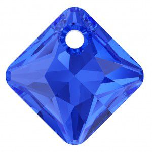 Pendentif Princess Cut Pendant 6431 Majestic Blue 11,5mm x1