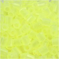 Perles à Repasser Jaune Fluo Transparent n°28