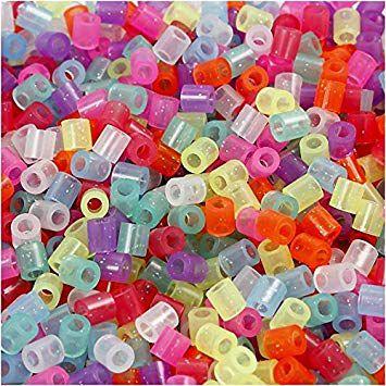 Perles à Repasser Mix Couleurs Pailleté
