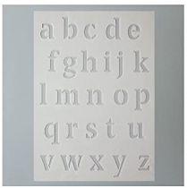 Pochoir Alphabet Minuscule 15x21 cm Efco