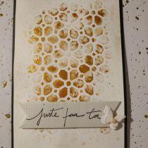Pochoir Fleurs du Japon 10x15 cm Artémio