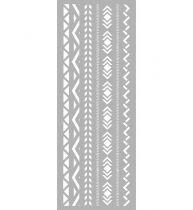 Pochoir Péruvien 15 x 40 cm Graine Créative