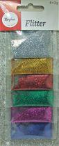 Poudre de paillettes dégradé multicolore de Noêl