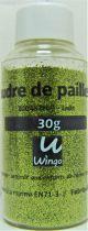 Poudre de paillettes vert jade 30 grs x1