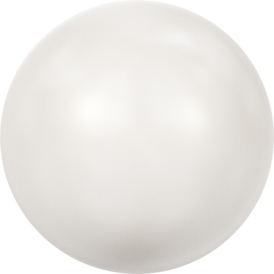 Ronde nacrée 5810 2mm Crystal White Pearl x20 Swarovski